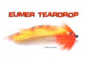 Rabbit strips bundet på Eumer Teardrop. Flue som funker på farget elv. Bundet av Espen Pedersen