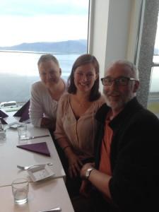 Middag med Thorsteinn i Reykjavik